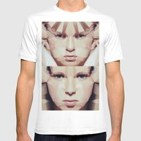 Facet_EF2 Mens Fitted Tee White SMALL