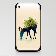 iPhone & iPod Skin featuring Watering (A Life Into It… by Budi Kwan