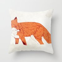 Vulpes Throw Pillow
