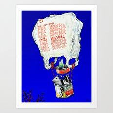 Great Escape Art Print