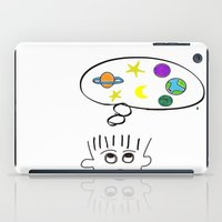 space dreaming iPad Case