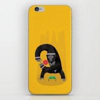 King Kong Ping Pong iPhone & iPod Skin
