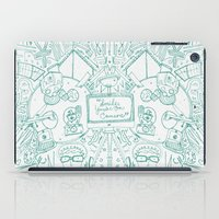 smile you're on camera iPad Case