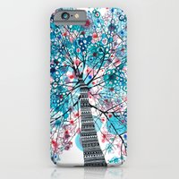iPhone & iPod Case featuring Portrait of a tree by Asja Boros