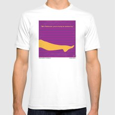 No135 My THE GRADUATE minimal movie poster Mens Fitted Tee White SMALL