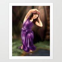 The Water Nymph Art Print