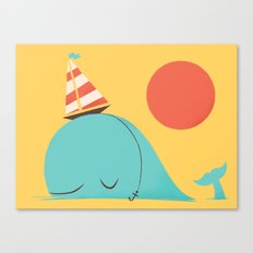 Party Hat Canvas Print
