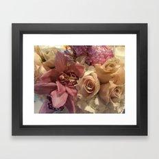 Stolen Flowers  Framed Art Print