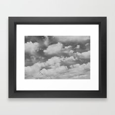 Birds Flying High Framed Art Print