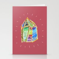 mystery of childhood. Stationery Cards