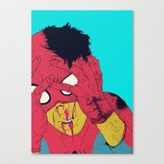 Thudd! Canvas Print