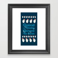 Chicken Will Have Your Teeth Framed Art Print