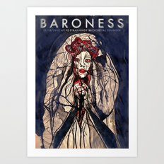 Baroness and Royal Thunder live in Berlin Art Print