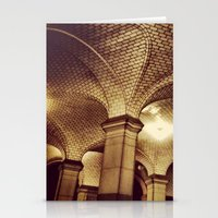 Downtown Subway Station,… Stationery Cards