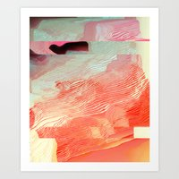 waves Art Prints featuring Waves by Okti