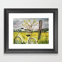 To The Secret Forest Framed Art Print
