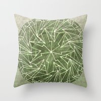 Spinny 1 Throw Pillow