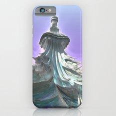 Ice Dragons Keep / / #fractal #fractals #3d iPhone 6 Slim Case