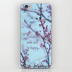 Spring Air iPhone & iPod Skin