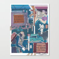 News Canvas Print