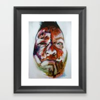 The Crash Framed Art Print