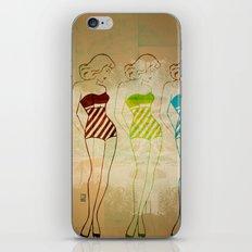 Retro Swimsuit iPhone & iPod Skin