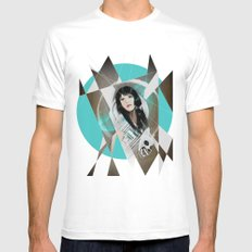 BAT FOR LASHES & The Mask Mens Fitted Tee White SMALL