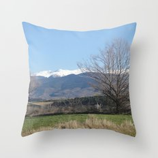 Pyrenees - Spain Throw Pillow