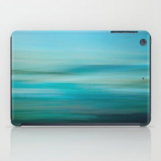 Greenish Blue Sea iPad Case