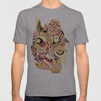 EL BARTO ~ BLACK Mens Fitted Tee Athletic Grey SMALL