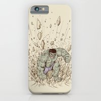 iPhone & iPod Case featuring Hulk Smash by Alex Solis