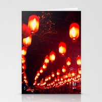 Ghost Street By Night Stationery Cards