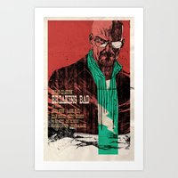 breaking bad Art Prints featuring Breaking bad by Toni Infante