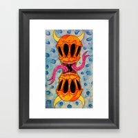 Lock Jaw Framed Art Print