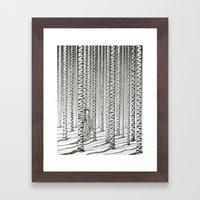 Concealment  Framed Art Print