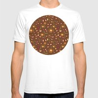 Afrika Mens Fitted Tee White SMALL
