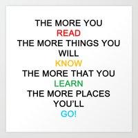 Quotes Art Print