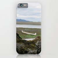 iPhone & iPod Case featuring Abandoned :: A Lone Canoe by RipdNTorn