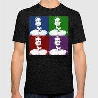 David Warhol Mens Fitted Tee Tri-Black SMALL