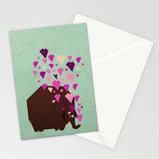 last mammoth Stationery Cards