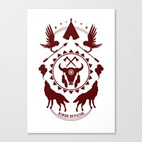 Indian Spirit Canvas Print