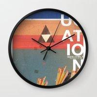 Education - Prepare For … Wall Clock