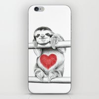 If Care Bears Were Sloth… iPhone & iPod Skin