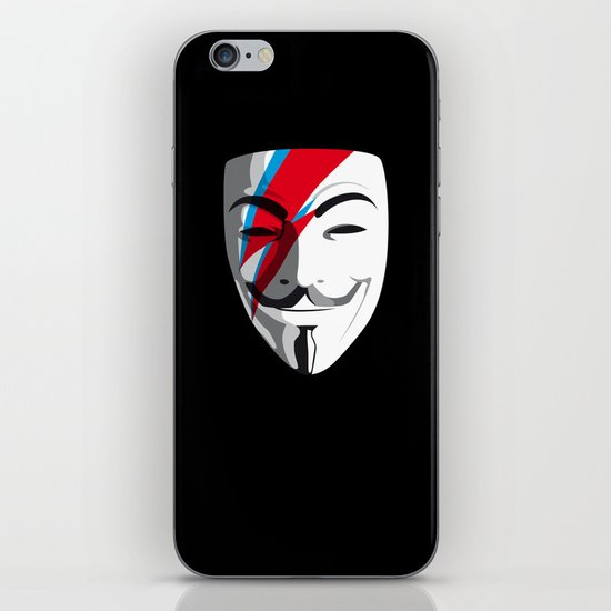 Viggy Starfawkes – Who wants to be anonymous? iPhone & iPod Skin
