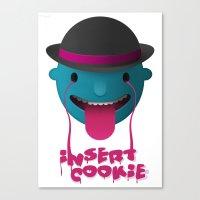Insert Cookie Canvas Print