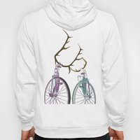 Bicycles in Love Hoody