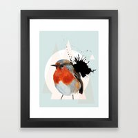 Robin Framed Art Print