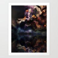 Obverse [Digital Figure Drawing] Art Print