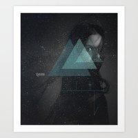 1181 Lilith asteroid Art Print