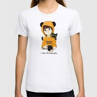 thanks kitty - i like photography Womens Fitted Tee Ash Grey SMALL